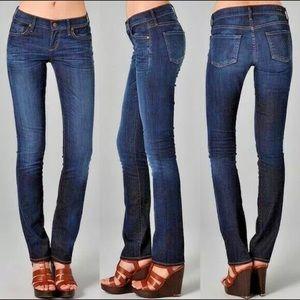 CoH Ava Low Waist Straight Leg Sz 27